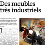 Press - C-tech passe de l'industrie au design