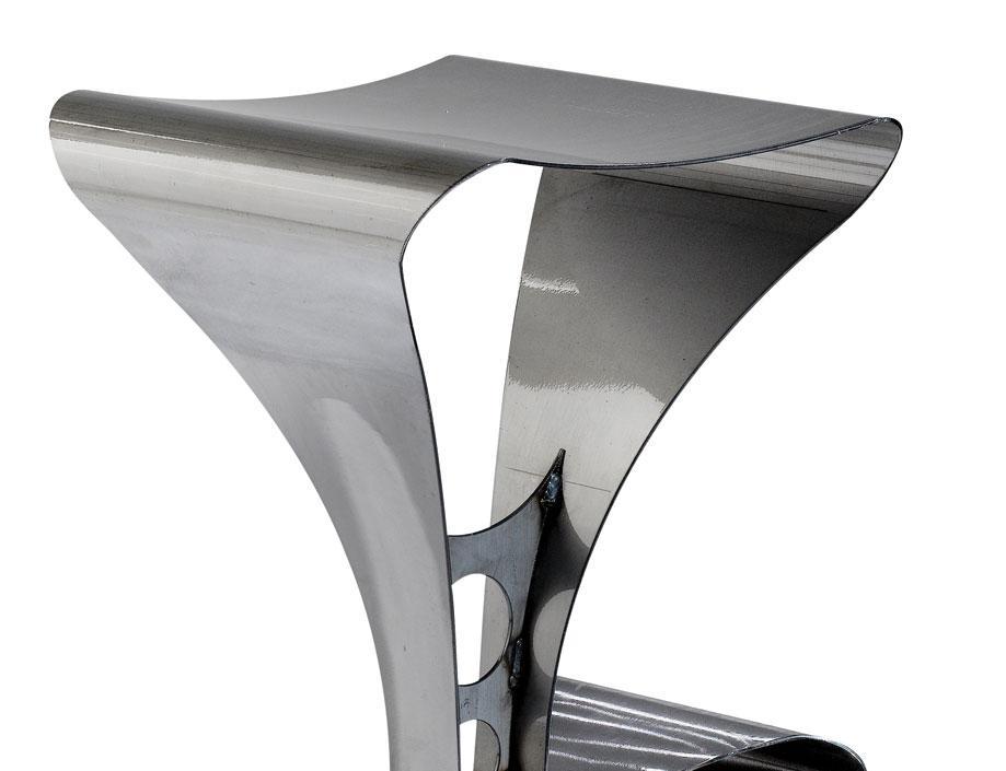 tabouret en acier l380 x h750 x p395 assises tabourets citysigner. Black Bedroom Furniture Sets. Home Design Ideas