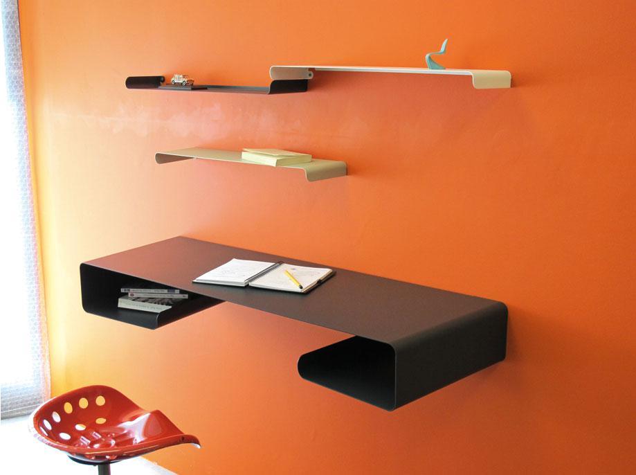 tablette murale bennet expresso biblioth ques et tablette murale bureau. Black Bedroom Furniture Sets. Home Design Ideas