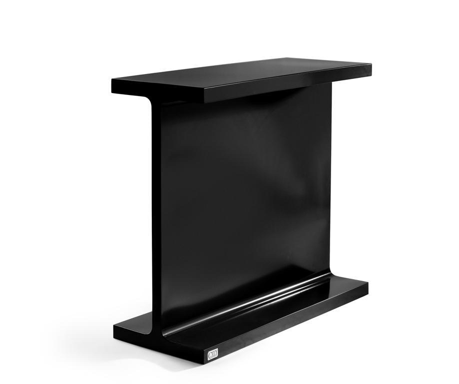 console industrielle ipn en acier l1000 x l400 x h900 consoles consoles citysigner. Black Bedroom Furniture Sets. Home Design Ideas