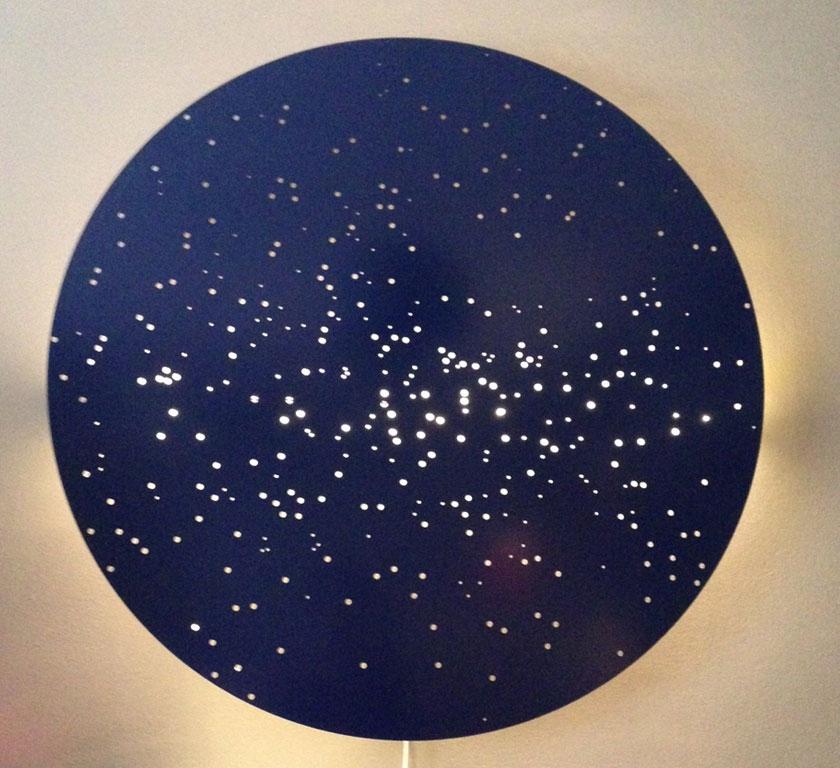 Applique Murale Constellation H80 X L80 Cm Déco Objets Déco