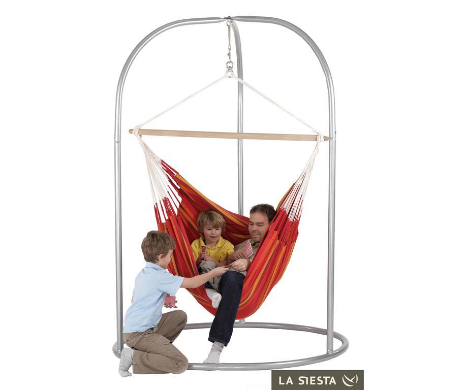 Set chaise hamac lounger rouge hauteur totale 185 cm jardin chaise hamacs citysigner - Mobilier jardin rouge besancon ...