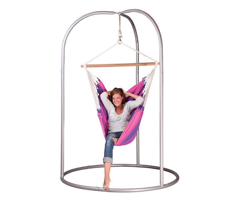 chaise hamac Violet Hauteur totale : 155 cm - Jardin - Chaise-hamacs ...