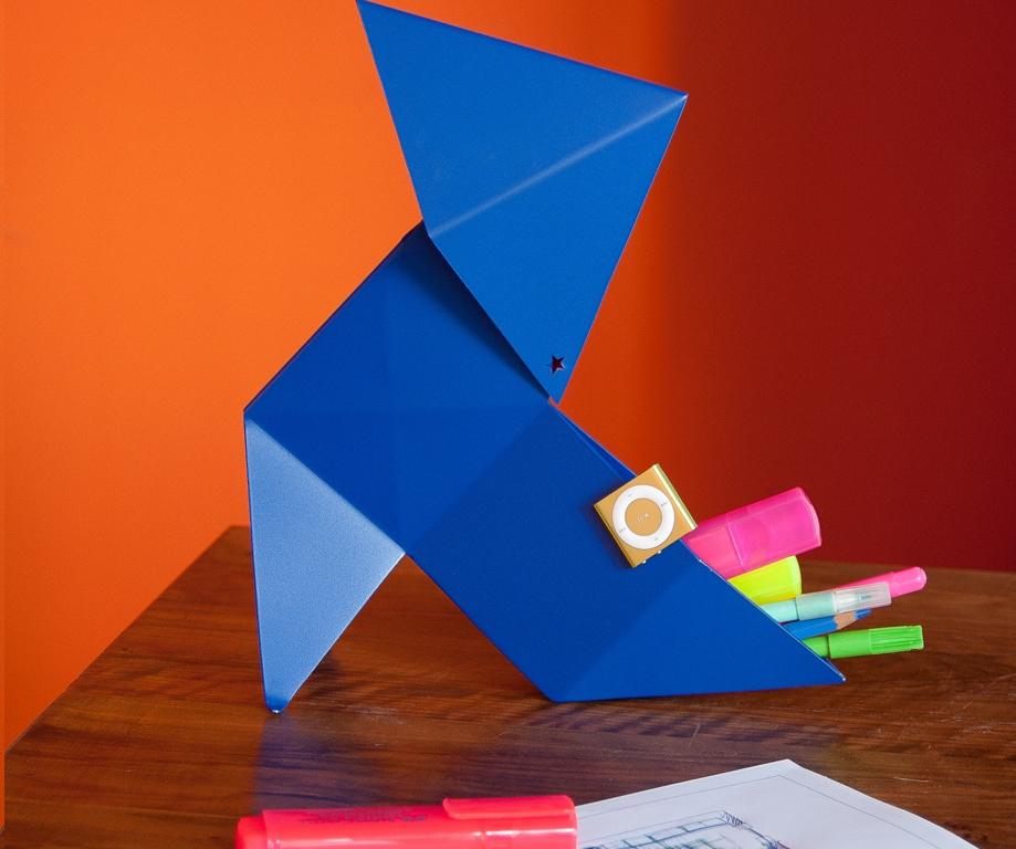 lampe origami l onie h50cm luminaires lampes poser citysigner. Black Bedroom Furniture Sets. Home Design Ideas