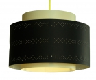 Mobilier et déco, Luminaires, Suspensions, Suspension Looma kono Black Beige