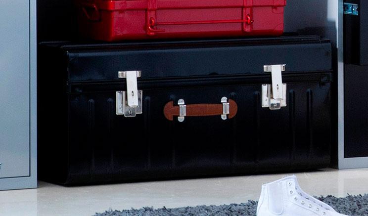 meuble pierre henry caisson de rangement pm porte serrure longueur x hauteur cm acier steel. Black Bedroom Furniture Sets. Home Design Ideas