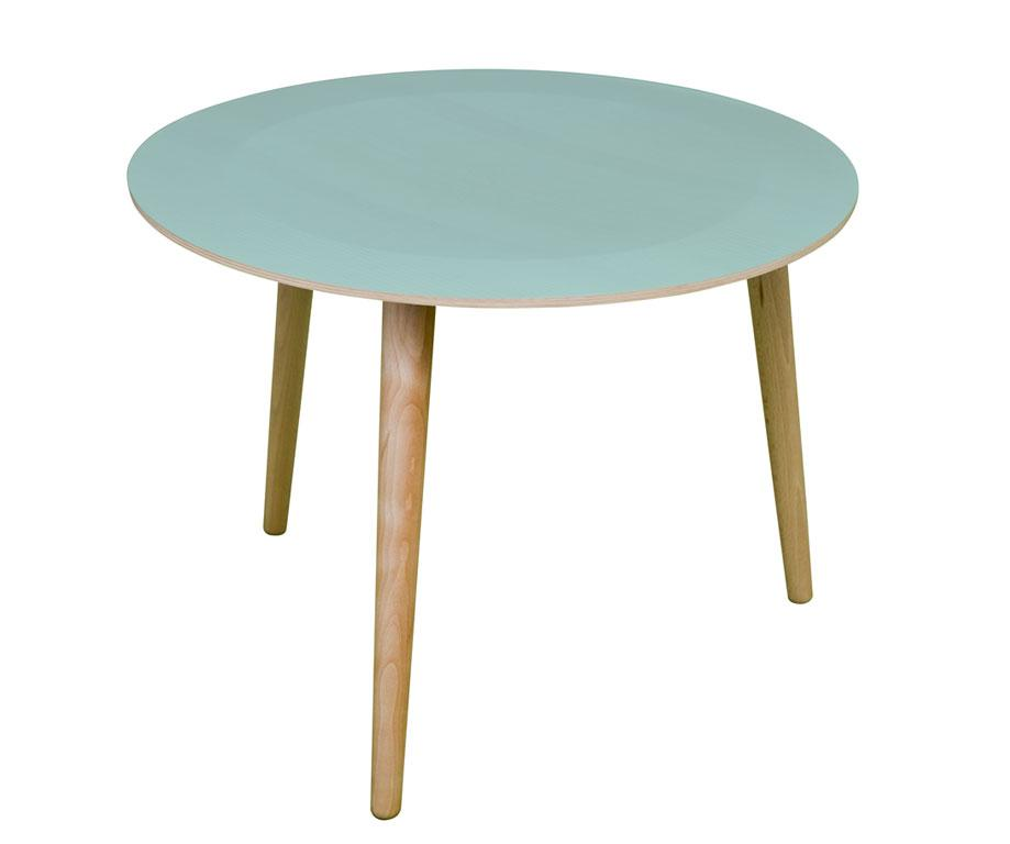 Table basse en bois la bruna vert d 39 eau d60 x h46 for Table basse scandinave vert d eau