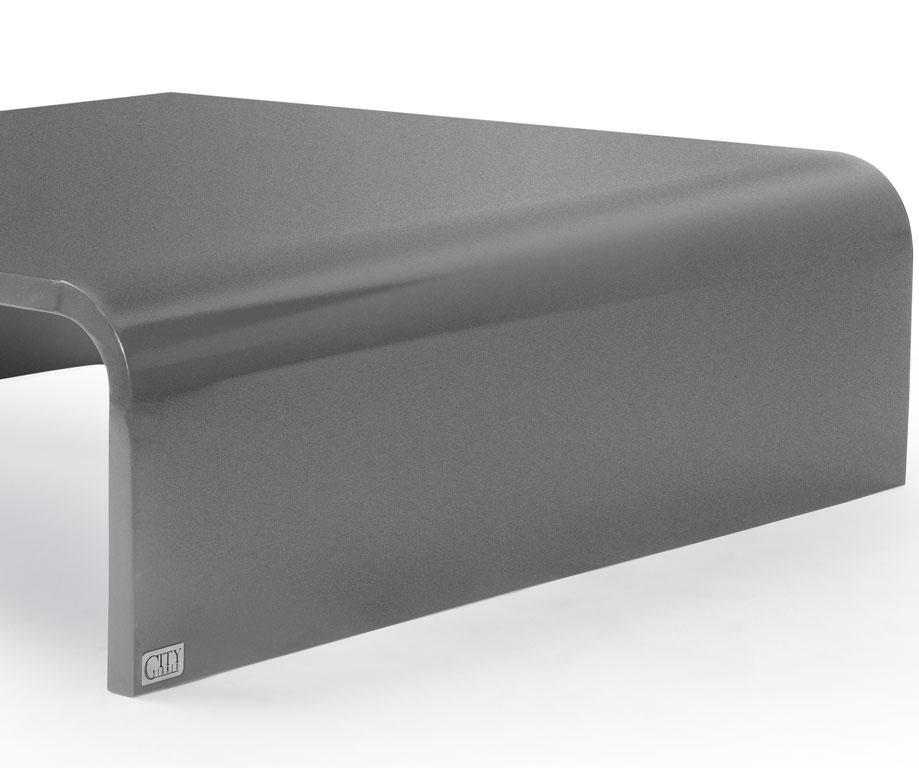 table basse halfy carr e en acier l1200 x l1120 x h350 tables tables basses citysigner. Black Bedroom Furniture Sets. Home Design Ideas