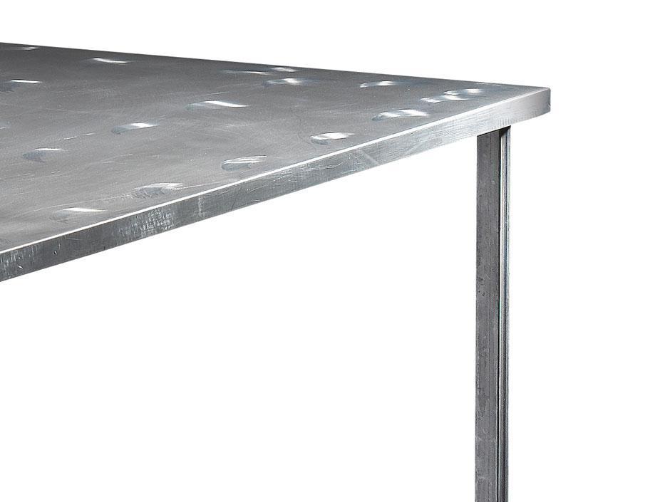 table manger tube en acier l1350 x l1350 x h730 tables tables de salle manger citysigner. Black Bedroom Furniture Sets. Home Design Ideas